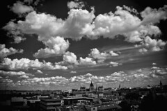 Hello Budapest - Hello Clouds (Babreka) Tags: blackandwhite bw cloud clouds canon blackwhite hungary budapest himmel parliament parlament buda felh pest 1100 magyarorszg 18135 1100d canon1100d canoneosrebelt3