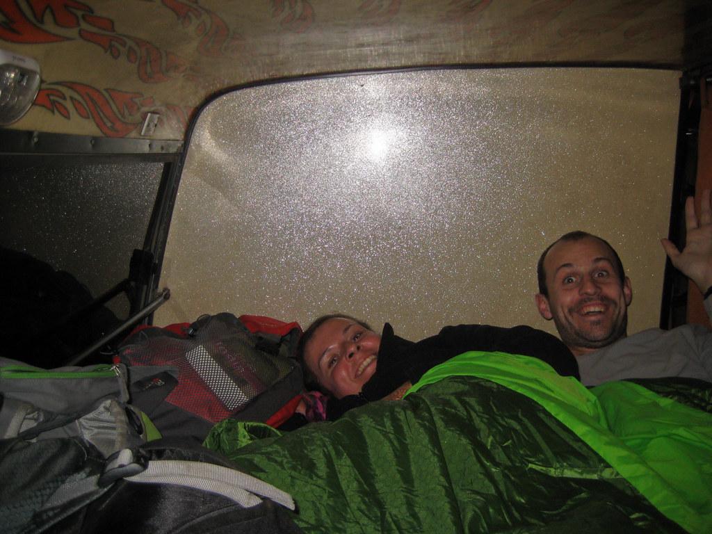 In a nightbus