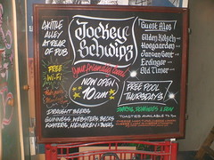 jockey schwipz (ski*318) Tags: local pubs chalkboard skeffington