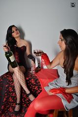 Drink! It won't hurt (Daniel VC) Tags: good daniel evil burlesque valverde