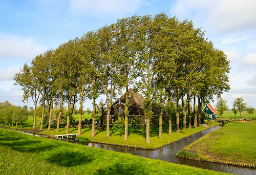 Beemster polder, the Netherlands (Unesco World heritage)