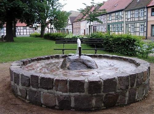65|Brunnen an der Lindenstraße in Bad Wilsnack
