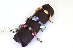 Make a Bracelet Display (tooaquarius) Tags: diy display jewelry bracelet poolnoodle july2013
