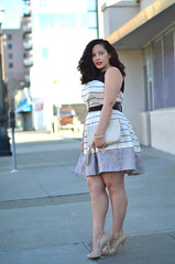 Styling 101 (GirlWithCurves) Tags: curvy bee curlyhair gwynnie plussizefashion girlwithcurves taneshaawasthi