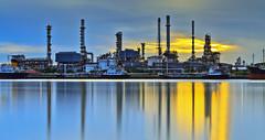 Oil refinery (anekphoto) Tags: auto l