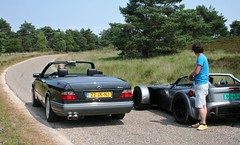 (Uno100) Tags: black grey mercedes d w 8 124 gto 300 donkervoort ce 220 cabriolet lorinser