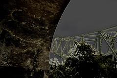 Bridges (Dave McGlinchey) Tags: bridges silverjubileebridge runcornwidnesbridge runcornrailwaybridge ethelfledabridge