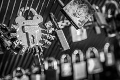 Locked! (www.picslim.com) Tags: bridge paris love jaune cadenas lock or