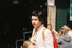 Girl walking, Broadway Market (fabiolug) Tags: street leica people sun london film girl 35mm walking kodak candid sunday streetphotography rangefinder summicron hackney portra m6 eastlondon broadwaymarket leicam6 candidphotography londonist filmphotography portra400 kodakportra400 leica35mm kodakportra leicam6ttl 35mmsummicronasph leicasummicron summicron35mmf2asph 35mmf2summicronasph summicronm35mmf2asph leicam6ttl072 believeinfilm
