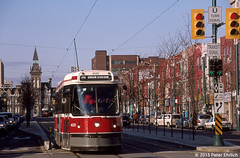TORONTO--4020 at Spadina/College IB (milantram) Tags: toronto ttc tram electricrailtransport railsystemstoronto