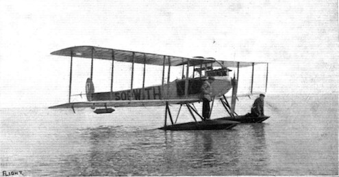 Sopwith Circuit of Britain floatplane 1913