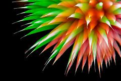 De-focused (Deschno) Tags: red green rot night deutschland nikon long exposure hessen nacht firework grn belichtung d800 feuerwerk defocused aquarena defocusing dillenburg defokussiert defokussieren