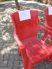 Vietato sedersi (Titus the Fox a.k.a. Tiziano Miccoli) Tags: sedia vietato grottedicastellana flickrandroidapp:filter=none