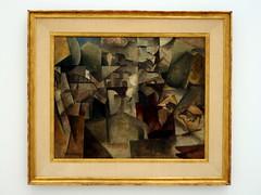 Albert Gleizes - The Bridges of Paris, 1912 (RMH40) Tags: vienna paris art modernart modernism mumok cubism museummodernerkunst albertgleizes
