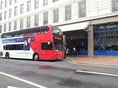Travel West Midlands 4854 Enviro 400 bodied Dennis Trident BX61 LMK (simon_n17) Tags: travelwestmidlands dennistrident 4854 bx61lmk enviro400bodywork