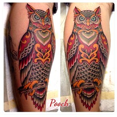 3 hours #greathornedowl #owltattoo #alteredtatetattoo #poochart