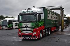 Eddie Stobart Mercedes Actros GK62OZL Bethany Ann (andyflyer) Tags: truck mercedes lorry carlisle actros eddiestobart bethanyann carlisledepot gk62ozl