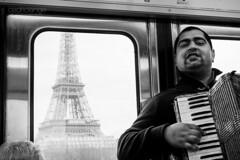 This is Paris (Cedpics) Tags: bw paris france tourism monument subway metro eiffeltower toureiffel accordeon thephotographyblog