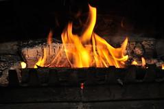Cheminée feu de bois