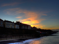Cromer at dusk, looking west (Martin Cooper Ipswich) Tags: favescontestwinner