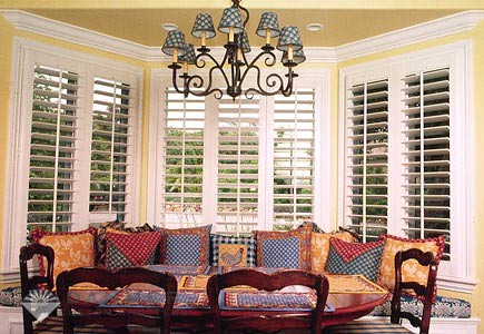 The Louver Shop Lexington features Hunter Douglas shades, blinds and window coverings