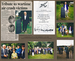 Memorial Commemoration Aug 1998 (Ted and Jen) Tags: church crash wwii spitfire liberator raaf raf secondworldwar garybreeze cockaynehatley johnspiller 147197 sambonnet raycarling pottonwood frankdoak edwardjohnjamesspiller kn736 noelgilmour