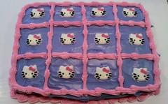 Hello Kitty cake, Triad, NC, www.birthdaycakes4free.com