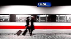 fulda (micagoto) Tags: travel ice bahnhof db passengers business fulda bahnsteig fernverkehr d7000