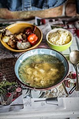 chicken soup (Melinda Kovacs-Siklosi) Tags: chicken vegetables soup warm comfort broth cosy comfortfood