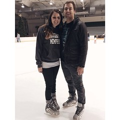 | B L I S S | Friday night + ice skating with my handsome guy, @jonburks! Life doesn't get much better than this! ❄️ (Stephen O) Tags: life b get guy ice night this with doesnt skating handsome s than l much friday better | i jonburks ❄️