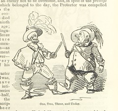 Image taken from page 551 of '[The comic history of England ... With twenty coloured etchings, and two hundred woodcuts. By John Leech.]' (The British Library) Tags: two man skeleton one three under medium swordfight grimreaper publicdomain vol0 bldigital mechanicalcurator pubplacelondon date1894 page551 abeckettgilbertabbott sysnum000005384 imagesfrombook000005384 imagesfromvolume0000053840