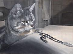 Sweet Petite (Jessiebla98) Tags: cat oilpainting miniaturepainting
