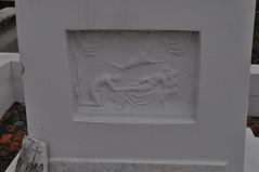 Claiborne bas relief