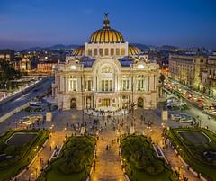 Bellas Artes, Mexico DF, Mexico (pedro lastra) Tags: city roof building skyline architecture mexico nikon df susanne kremer