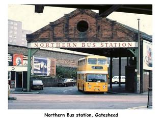 NORTHERN BUS STATION, GATESHEAD