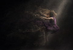 To See Your World (Robert Cornelius Photography) Tags: fiction light woman fall girl composite lady photoshop manipulated dark amazing cool interesting dress purple arm legs