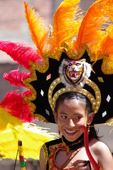 Carnival Oruro 2014, Bolivia (ARNAUD_Z_VOYAGE) Tags: street city carnival blue people music orange verde green heritage colors yellow festival azul america religious grey dance amazing shrine 2000 dancers humanity pentax folk altitude south traditional llama bolivia tunnel christian unesco celebration virgin sing oral entrada carnaval ritual years perform region pilgrimage candelaria altura groups indigenous socavón pachamama oruro kx dances diablada andina anata autóctona
