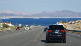 Driving into Black Canyon
