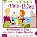 Affiche du Printemps des Vins de Blaye 2014