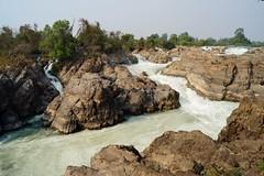 Don Khône - chutes de Li Phi 3 (luco*) Tags: islands li waterfall phi don laos lao chutes îles 4000 flickraward flickraward5 khône