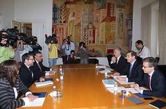 Audiência com o Primeiro-Ministro