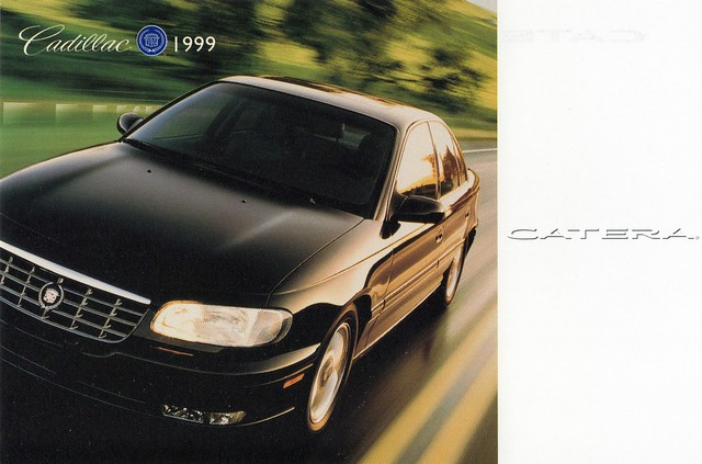 postcard 1999 cadillac catera