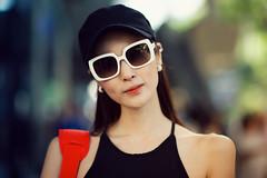 Ji Young (Jon Siegel) Tags: street portrait woman girl beautiful fashion nikon singapore f14 gorgeous 14 85mm orchard korean nikkor stylish 85mmf14 d700 nikkor85mmf14afd