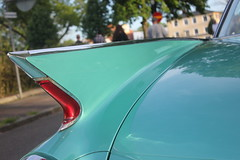 Cadillac 1960 (Drontfarmaren) Tags: pictures classic car vintage spring iron gallery sweden cruising cadillac american bilder 1960 vår öland 2014 galleri borgholm drontfarmaren