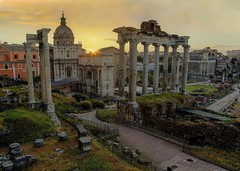 Sunrise at the Forum (Cole Chase Photography) Tags: summer vacation italy rome sunrise canon spring forum mark5diii