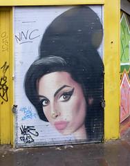 Shutters : Amy Whitehouse (donbyatt) Tags: street urban graffiti paint amy spray shoreditch shutters shops cans bricklane eastlondon amywhitehouse