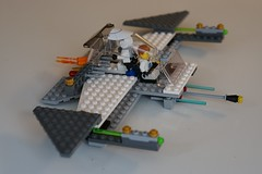 Star Wars Lego Creation (shinnygogo) Tags: original playing macro building kids fun toy creativity starwars play lego bokeh bricks creation build masterbuilder