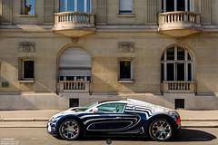 Bugatti l'Or Blanc (Ugo Missana - www.ugomissana.fr) Tags: bugatti spotting veyron grandsport orblanc 2015juilletparisspotting