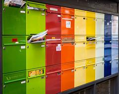 Mailbox rainbow (Andrew:D) Tags: color colors mailbox canon rainbow colorful bunt regenbogen briefkasten autofocus ef50mmf14usm canoneos60d