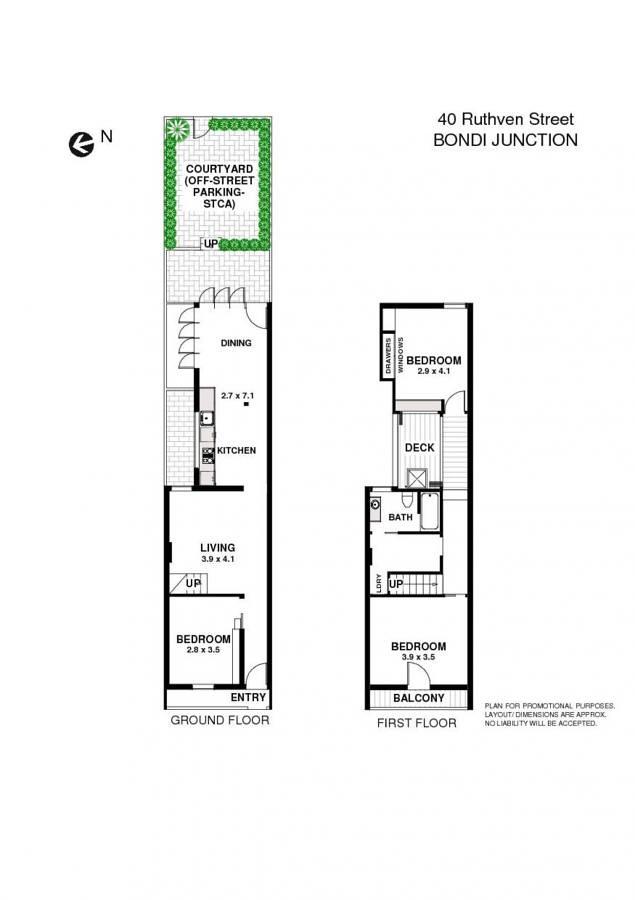 property floorplan of 40 ruthven street bondi junction meriton bondi junction apartment sydney hotels and
